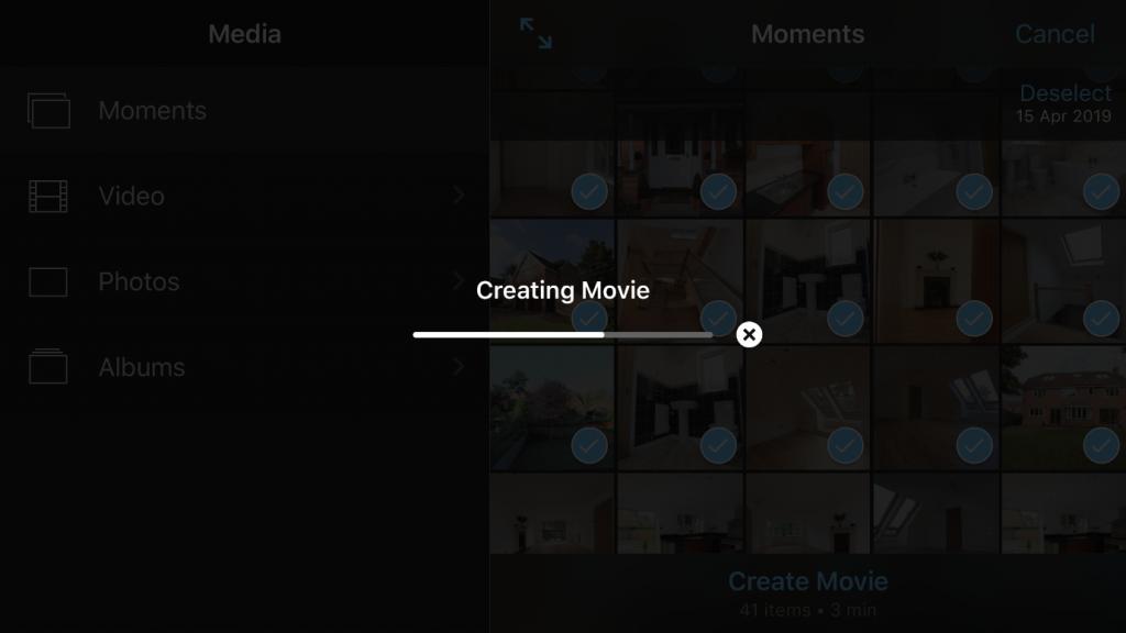 Creating Movie